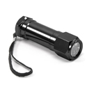 LED Flashlight - Black w/ Batteries