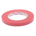 1/2 inch Red Paper Tape Permacel - 60 Yards